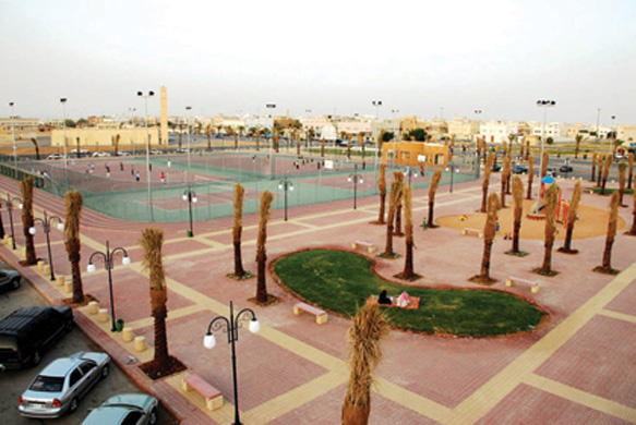 Supervising the establishment of municipal squares and parks